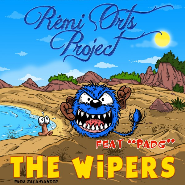 The-Wipers- Front cover