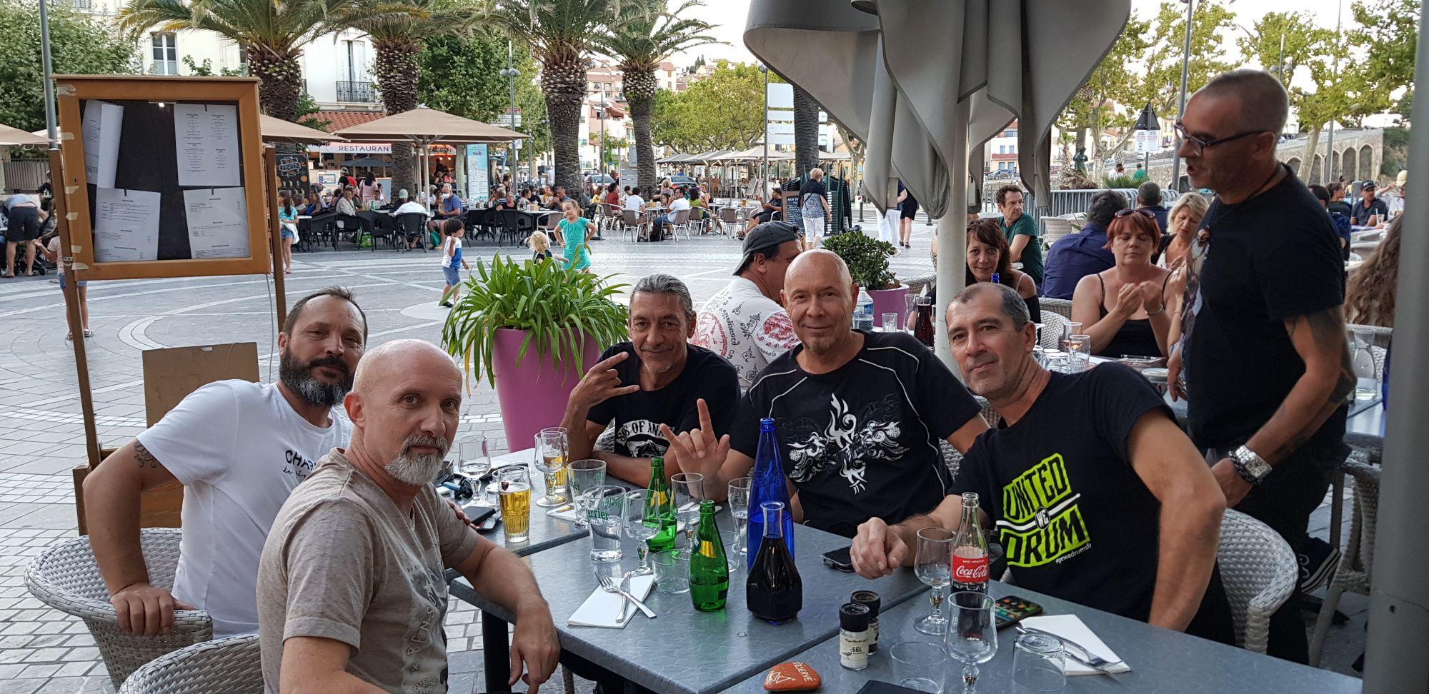 Eric, Oliv', Pat, Yan from Neva