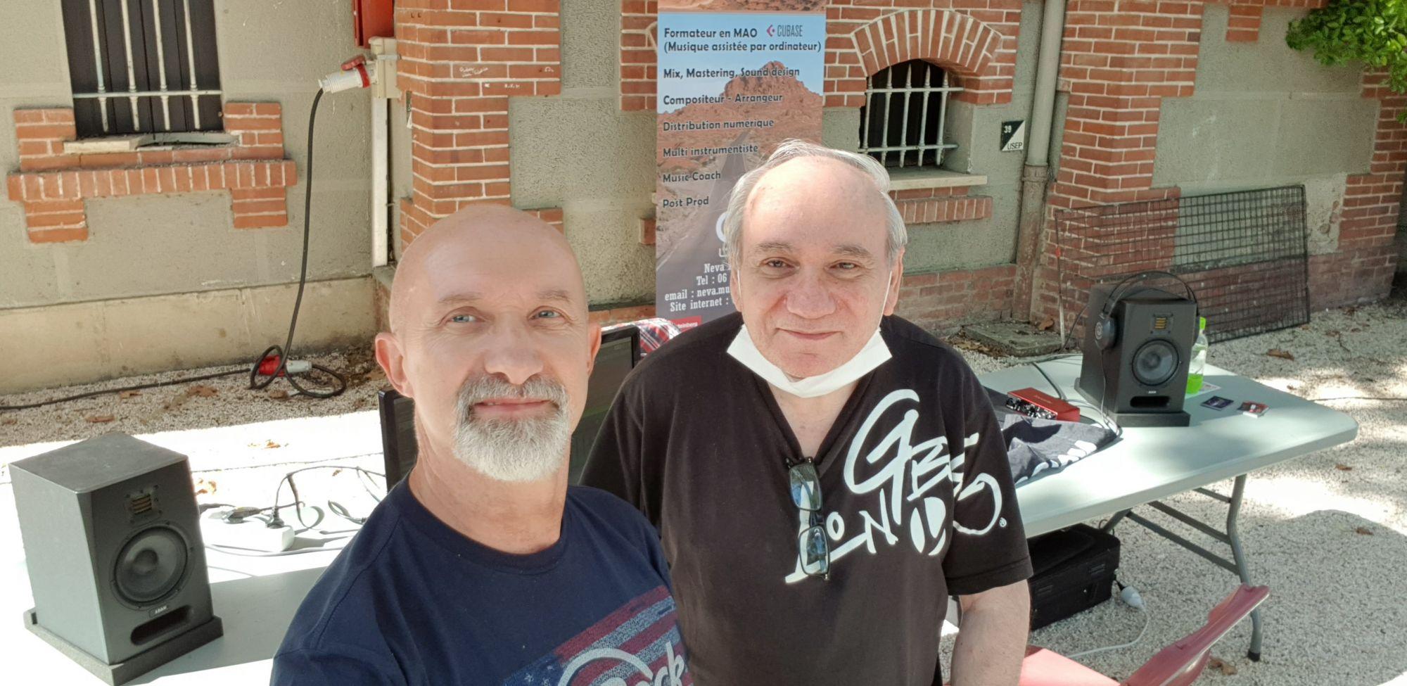 Avec André Falco